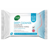 PURE WIPES 25S DEEP CLEANSE PK12