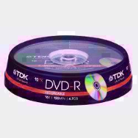 PHILIPS DVD  - R  SPINDLE OF 10