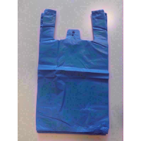CARRIERS BAGS BLUE PK100
