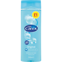 CAREX SHOWER 500ML ORIGINAL (PMP?1) PK6