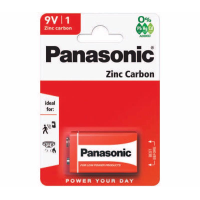 PANASONIC BATTERIES SQUARE F22 9V PK12