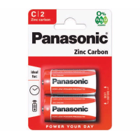 PANASONIC BATTERIES R14 C  PK12