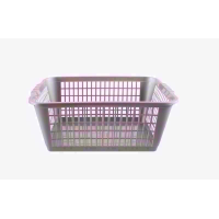 SIGNATURE HANDY MEDIUM SILVER BASKET