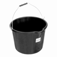 PLASTIC BUILDER BUCKET 14 LTR