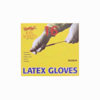 ROYAL LATEX POWDERED16 GLOVES MEDIUM