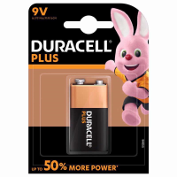 DURACELL BATTERIES PLUS  MN1604  9V PK10