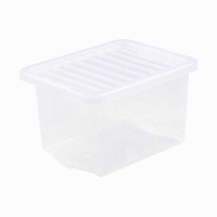 WHAM CRYSTAL 24LTR CLEAR BOX & LID