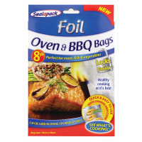 SEALAPACK BAGS 8 OVEN & BBQ