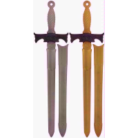 SWORD BROAD GOLD/SILVER
