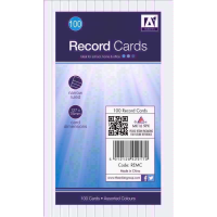 ANKER RECORD CARDS 80