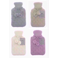 COUNTRY CLUB  HEART HOT WATER BOTTLE 2L