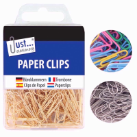 JUST STATIONERY PAPER CLIPS ASSTD