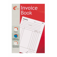 CHILTERN WOVE BOOK INVOICE BOOK 100 PAGES