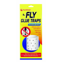 151 FLY GLUE TRAP 4 SHEETS 19/5