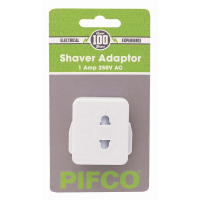PIFCO SHAVER ADAPTOR (BLISTER) due 04/06