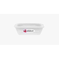 BEAUFORT ULTRA RECT FOOD CONTAINER .500ML
