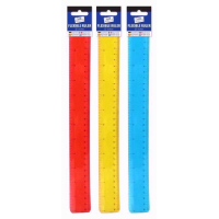 JUST STATIONERY RULER BENDY 12INCH
