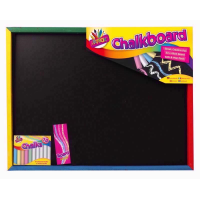 ART BOX CHALK BOARD SET LARGE