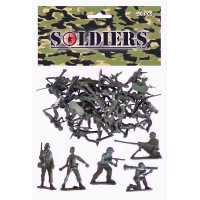 SOLDIERS 50PC IN BAG