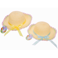 BONNET WITH RIBBON ASSORTED