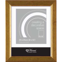 GOLD RIBBED FRAME 8X10INCH