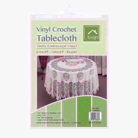 CROCHET 63 IN ROUND TABLE COVER