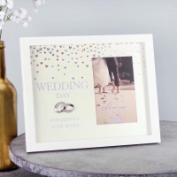 WEDDING FRAME SHOWERED WITH LOVE