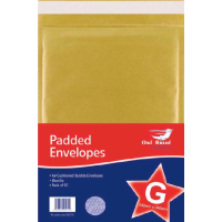 PADDED ENVELOPES SIZE G 240X340MM PK10