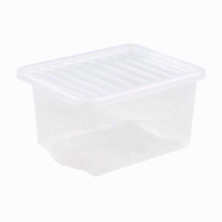 WHAM CRYSTAL 35LTR CLEAR BOX & LID