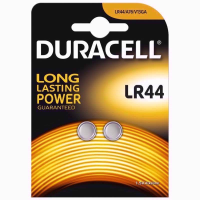 DURACELL BATTERIES LR44  PACK OF 2