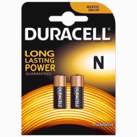 DURACELL BATTERIES LR1 TWIN PACK