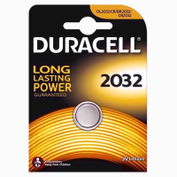 DURACELL BATTERIES COIN DL2032 TWIN PACK
