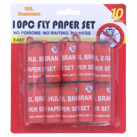 FLY PAPER SET 10PCE