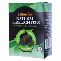 HOMEFIRE NATURAL FIRELIGHTERS 24 CUBES