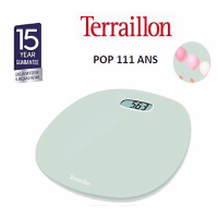 TERRAILLON BATHROOM SCALE POP FIRST GREEN